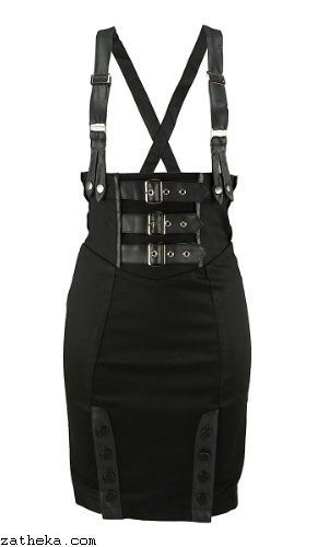 Jawbreaker SUSPENDER Skirt. www.zatheka.com/gothic-clothing-uk alternative…