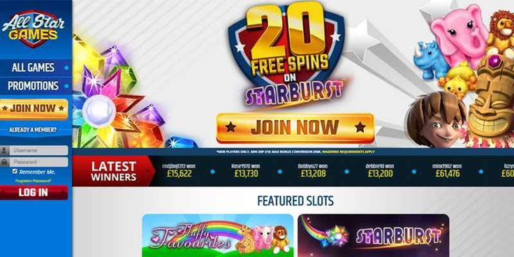 All Star Games - Plat With New Online Bingo Sites UK 2017 About All Star Games  Welcome to All Star Games. If you're looking to choose from hundreds of the most exciting games, unlock free spins and exciting bonuses, and bag massive jackpots, yo #allstargames #bestonlinebingosites