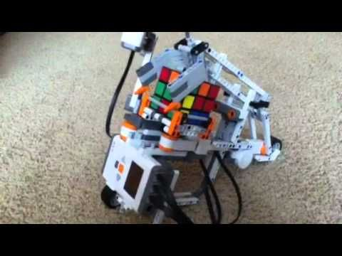The 38 best lego mindstorm images on pinterest lego mindstorms lego mindstorms rubiks cube solving robot youtube fandeluxe Gallery