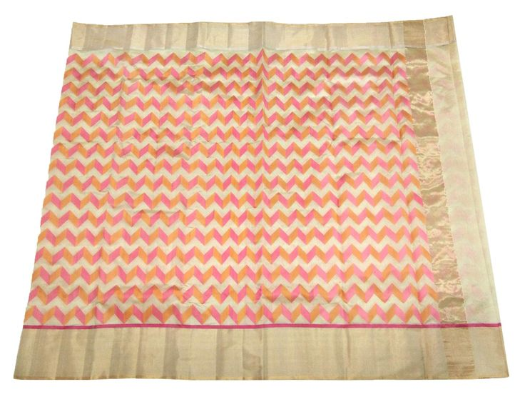This Chanderi Saree is made of Pure Pattu Silk. Length is approx. 6.25 meter, and width is approx 45 inches. At the time of listing this product, this item is available. In case this item is sold out from our physical store, the full refund will be initiated back to you within 24 hours of making the