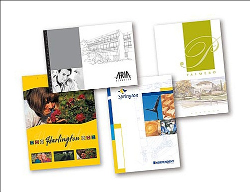 Real Estate Brochures Bad Hat Harry Printwork