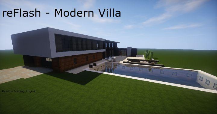 reFlash - Modern Villa Minecraft Project