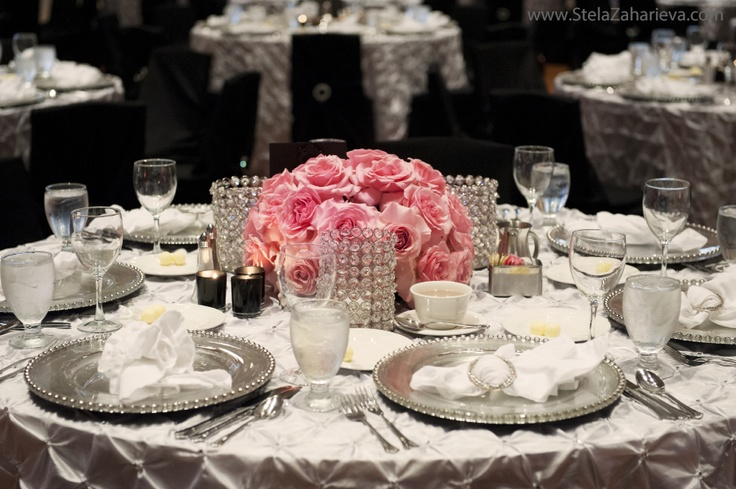 low pink rose centerpiece by emerald city designs pink rose centerpieces pink roses table centerpieces