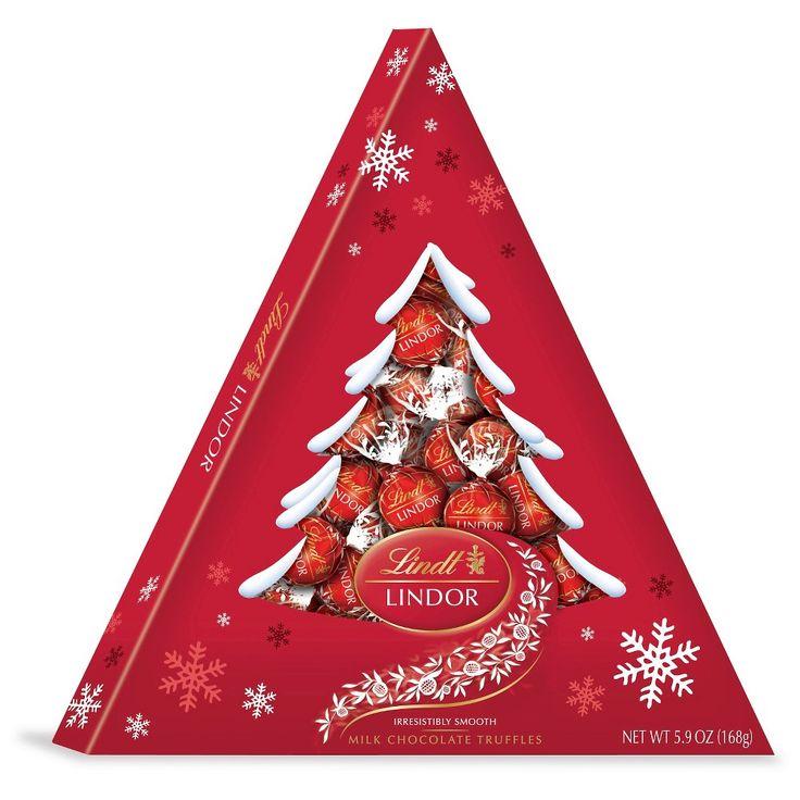 Lindt Lindor Christmas Milk Chocolate Tree box 5.9oz