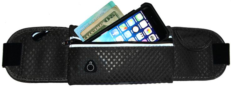 """Running & Activity Mesh Belt for iPhone 7, 6 / 6S, 6 Plus, 5/5S, & Galaxy S7 S6 S5 S4, LG, Moto, HTC One, Nexus & More (Black). COMPATIBILITY: Fits all of the iPhone and Samsung model phones up to 3.5"""" x 6.5"""" including iPhone 7, 6 6S Plus, Samsung Galaxy S Series, LG G5 and many others. PROTECTION: Soft mesh material protects and keeps your phone safe from sweat and moisture. EASY TO USE: Includes handy reflective zipper pouch and headphone access port. STORAGE: Includes storage pouches…"""