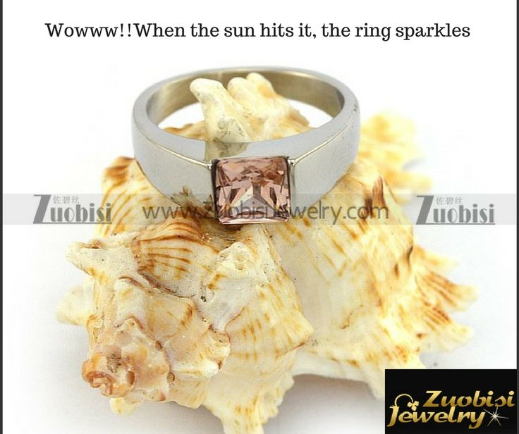 Speechless!!  Wowww!! The ring looks better than diamond rings. When the sun hits it, the ring sparkles #Zuobisijewelry