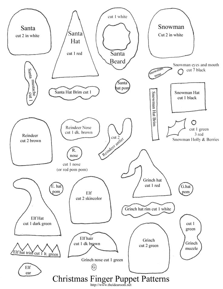 79 best images about patrones patterns on pinterest - Figuras fieltro navidad ...