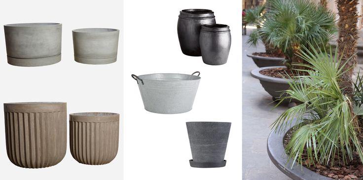 FEM FRÆKKE KRUKKER - Five cool flower-pots