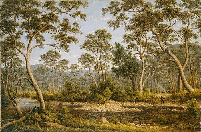 John Glover (1767-1849) - The River Nile, Van Diemen's Land, from Mr. Glover's Farm, 1837