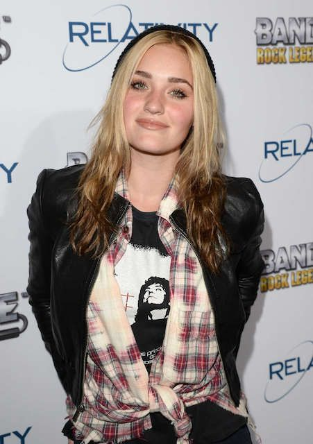 American singer and actress, Amanda AJ Michalka during BandFuse Rock Legends Video Game Launch...