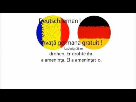 #Curs #audio #limba #germana #gratuit #Verbe #literaD #dämpfen #danken #dasein #dauern #demontieren #denken #dienen #diskutieren #donneren #drängen #drehen #drohen #drucken #drücken2 #dulden #durchsagen #durchsetzen #dürfen #duschen #Invata #limbagermana fara #profesor