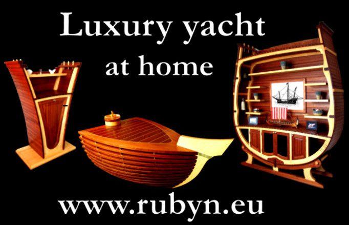 Santa Maria yacht collection by Rubyn. Luxury style at home! www.rubyn.eu