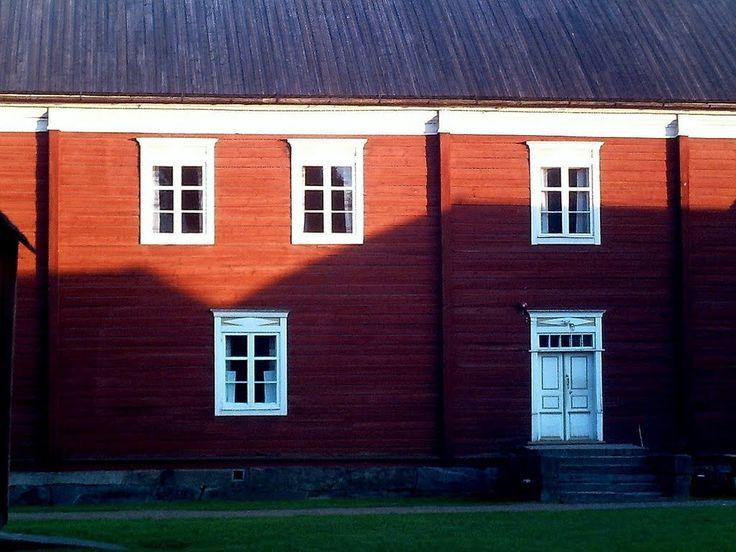 Yli-Laurosela farmhouse museum, Ilmajoki, South Ostrobothnia province of Western Finland. - Etelä-Pohjanmaa,