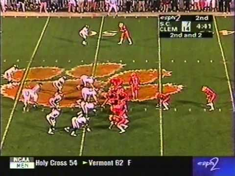 1998 Clemson vs South Carolina Football Game - YouTube