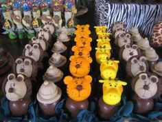 bolos decorados tema safari - Pesquisa Google