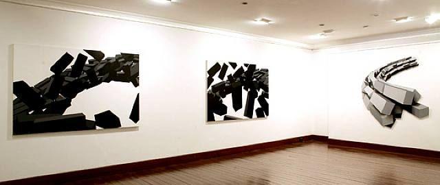 Rodrigo Echeverri Calero - Hechos Aislados; Emboscados (Installation View) - Arte Colombia - Informacion de la Obra