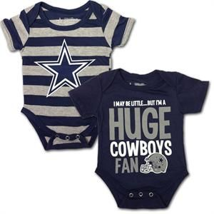 I don't care if we are having a boy or a girl, they will be dressed in Cowboys clothes!!