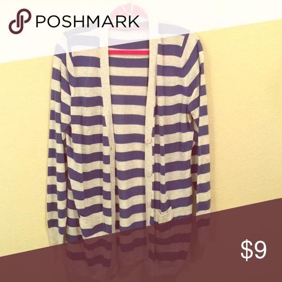 Cotton On Striped Cardigan Oversized stripe Cardigan from Cotton On Sweaters Cardigans