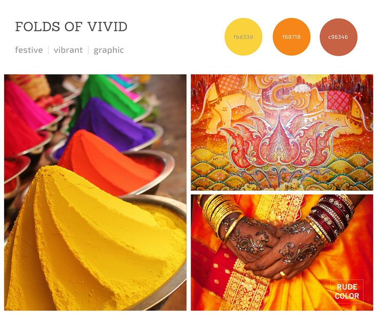 Rudecolor_India_Color_Trends_2 #inspiration #trends #2016 #colortrends #colorscheme #color #palette #scheme
