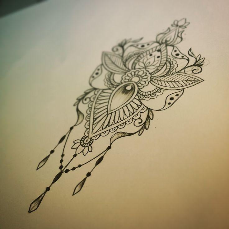Les 25 meilleures id es de la cat gorie mandala tatouage design sur pinterest tatouage - Tatouage manchette mandala ...