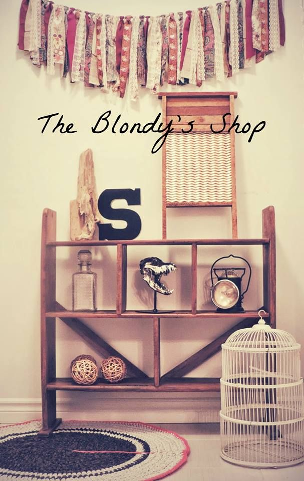 industrial rack The Blondy's Shop
