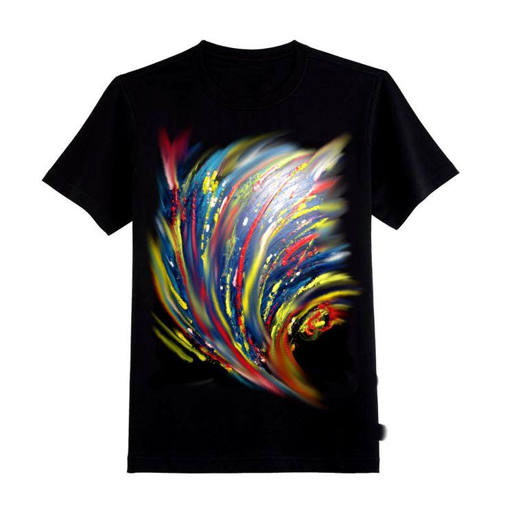 """t shirt """"ABSTRACT"""" di SACROSANCTA su Etsy"""