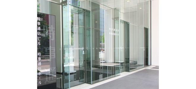 自動ドアの寺岡オート・ドアシステム株式会社の床埋め込み型スライドドア3