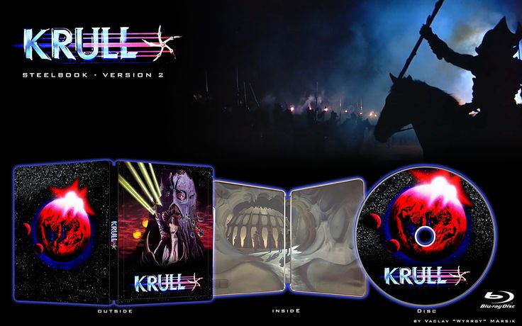 KRULL - V2 - STEELBOOK -  Fan art