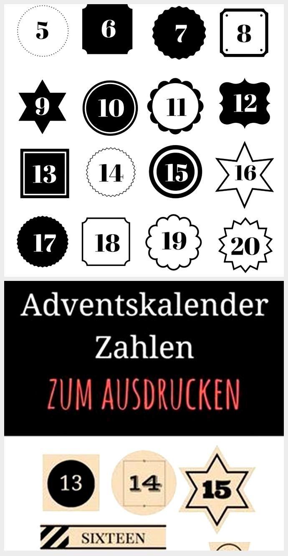 Adventskalender Zahlen Zum Ausdrucken Adventskalender Zahlen Zum Ausdrucken Adventskalender Zahlen Und Adventskalender