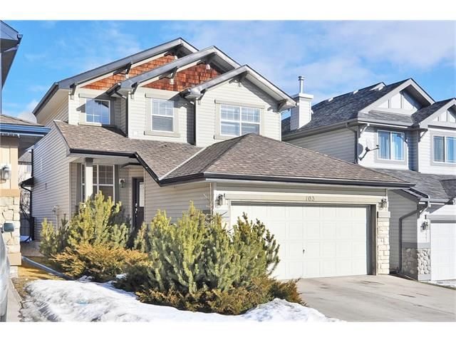 Map location: 103 SPRING VILLAGE Lane SW in Calgary: Springbank Hill House for sale : MLS(r) # C4048352