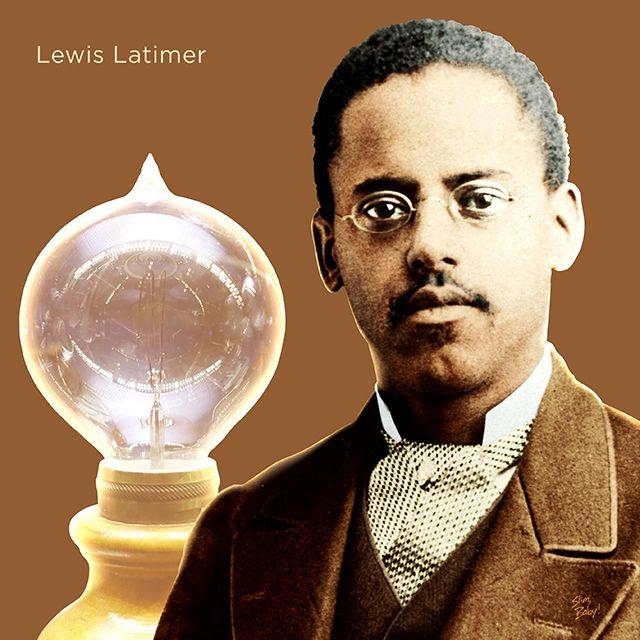Lewis H. Latimer | ultimedescente.com | African american history, African american inventors, Latimer