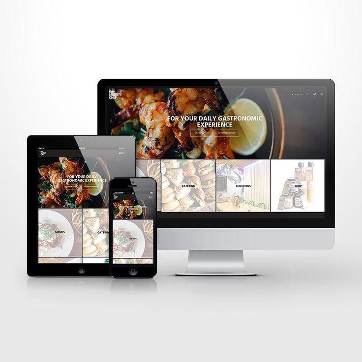Responsive e-commerce website for the Moody Chef #responsivedesign #webdesign #wordpress #responsive #content #development #branding #identity #graphicdesign #website