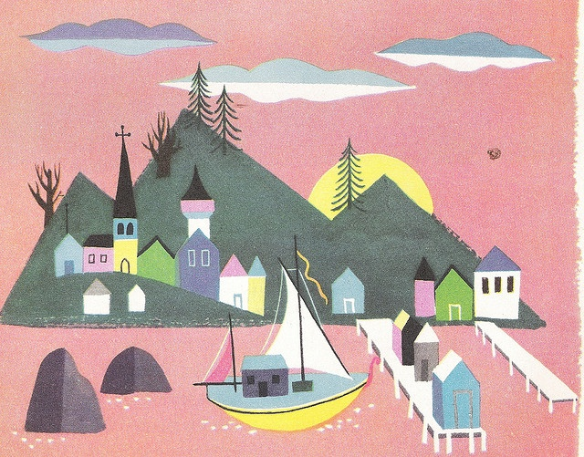 Alice and Martin Provensen's World--Mountain and Sea