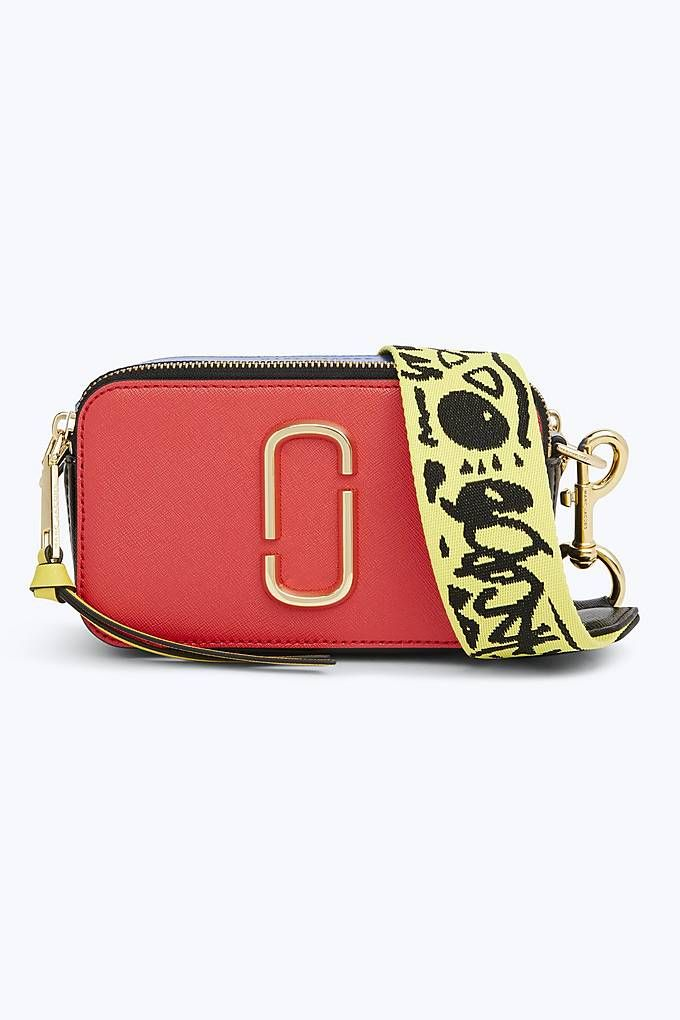 Marc Jacobs Snapshot Small Camera Bag in Poppy Red  e4a8da8233109