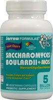 Jarrow Formulas Saccharomyces Boulardii plus MOS- I am still on the fence about how effective probiotics are but this strain has more promise than others and it seems to work, try it