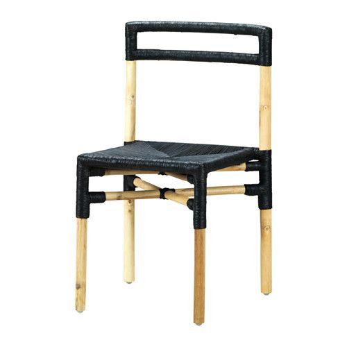 VIKTIGT Stol IKEA Sædet er vævet af papirsnor, som både er holdbart og behageligt at sidde på. Hvert møbel håndlavet og derfor unikt.
