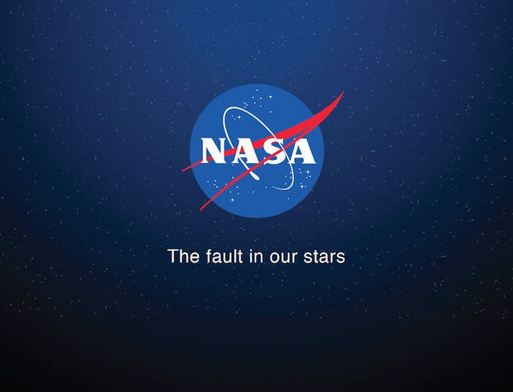 Brand taglines replaced with movie and book titles - NASA