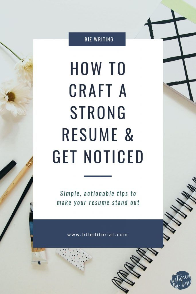 Crafting A Strong Resume Doesnu0027t Have To Be Hard! Check Out These Quick