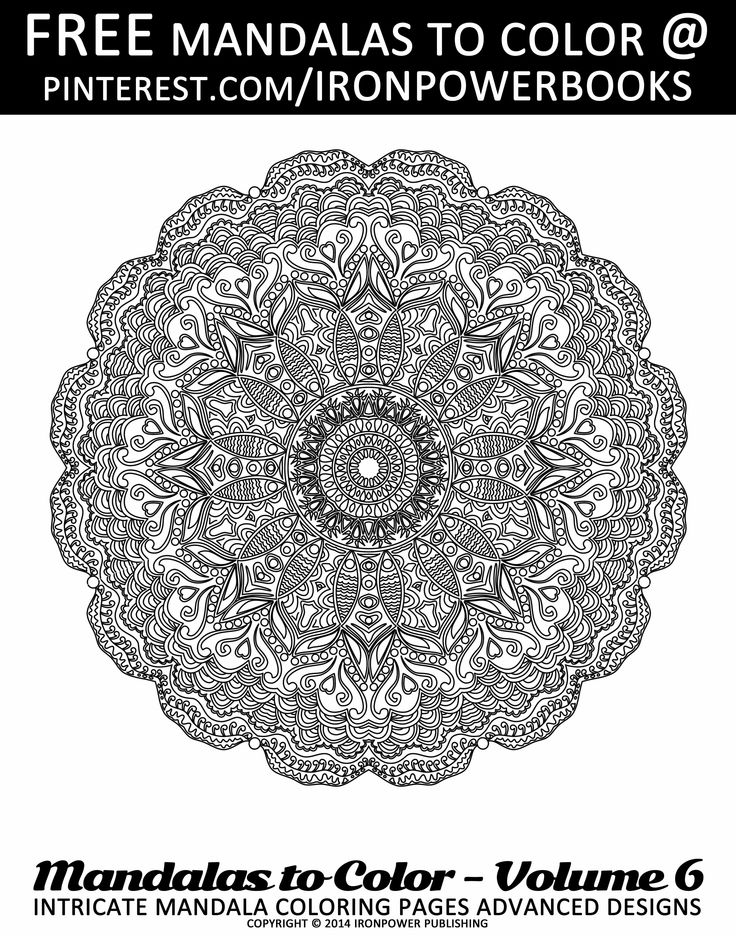 free printable intricate mandala designs more pages ironpowerbooks for a paperback copy with