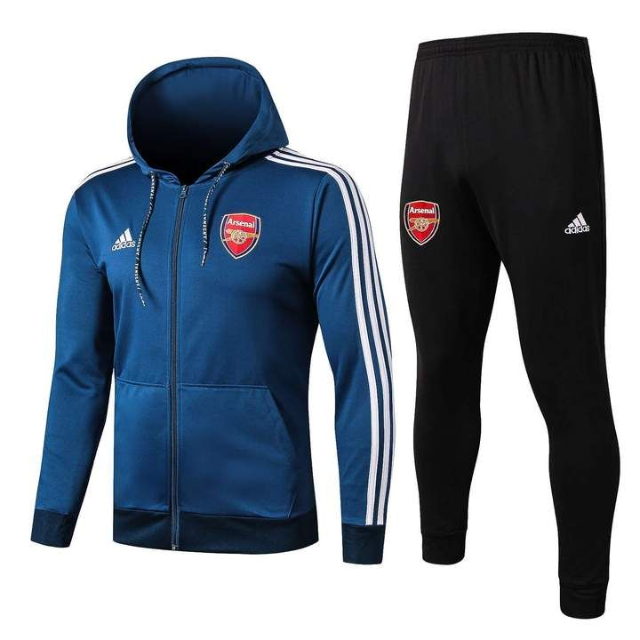 Arsenal F.C. Football club adidas 2019 20 Pull Over HOODIE