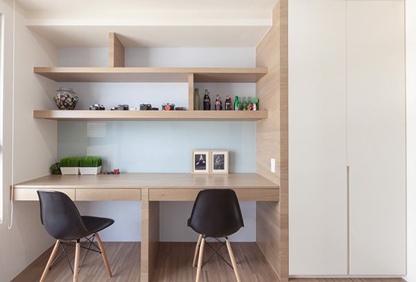 HO.SPACE DESIGN | 2 TAICHUNG APARTMENTS by Hey!Cheese, via Behance