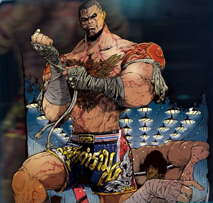 Pin On Tekken 7 Claudio Serafino