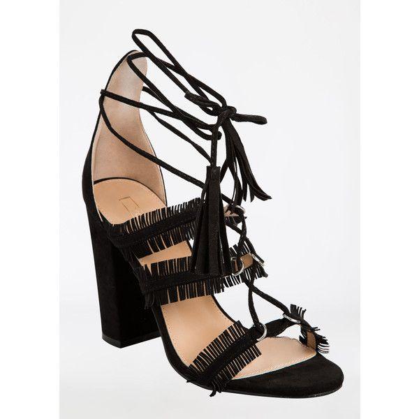 Ashley Stewart Block Heel Gladiator Sandals - Medium Width (62 PEN) ❤ liked on Polyvore featuring shoes, sandals, heeled sandals, gladiator heel sandals, block-heel sandals, block-heel shoes and block heel sandals