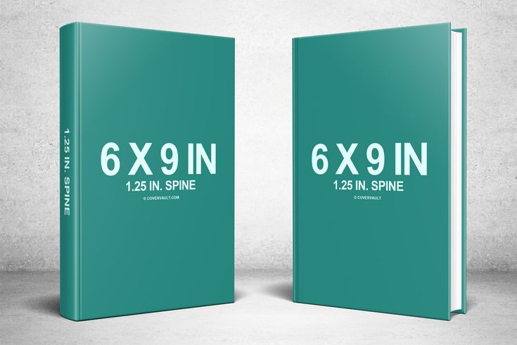 Two 6 X 9 Hardcovers Standing Psd Mockup Covervault Book Cover Template Book Cover Mockup Free Mockup Book