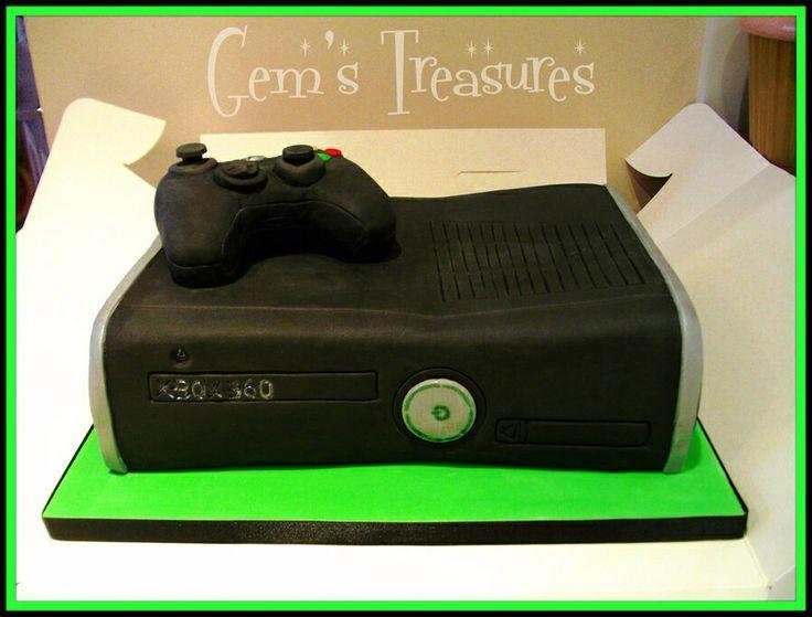 black xbox cakes - photo #11