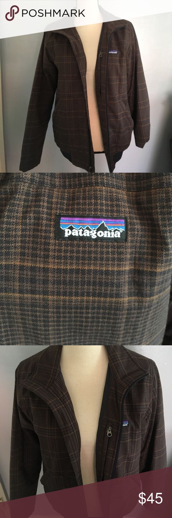 Patagonia men's jacket! XS! Patagonia men's jacket! Fully lined on the inside. Pocket with zipper on the inside and pockets with zippers on the outside as well! Clean and ready to ship! Ships within 24hrs unless otherwise stated.😌 like more than one item!? bundle for an exclusive offer! 🤗 Patagonia Jackets & Coats