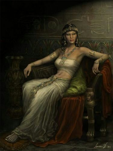 egyptian queen drawing - photo #18