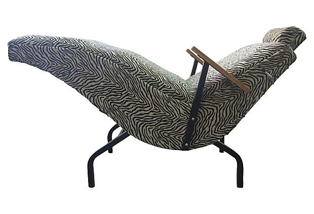 11 best whipstitch home decor sewing images on pinterest for Animal print chaise longue