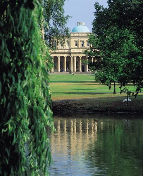 We got married here!  Beautiful Pittville Park, Cheltenham, Cotswolds