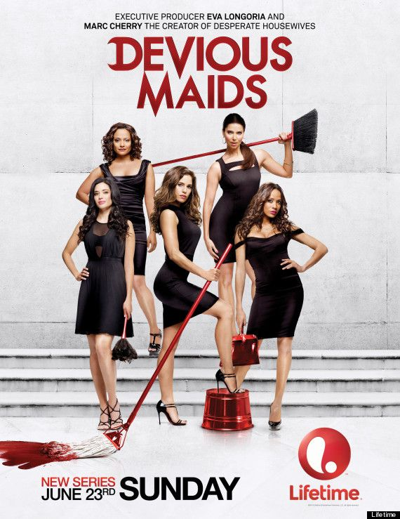 Exclusive Devious Maids First Look Devious Maids Eva Longoria Desperate Housewives Maid
